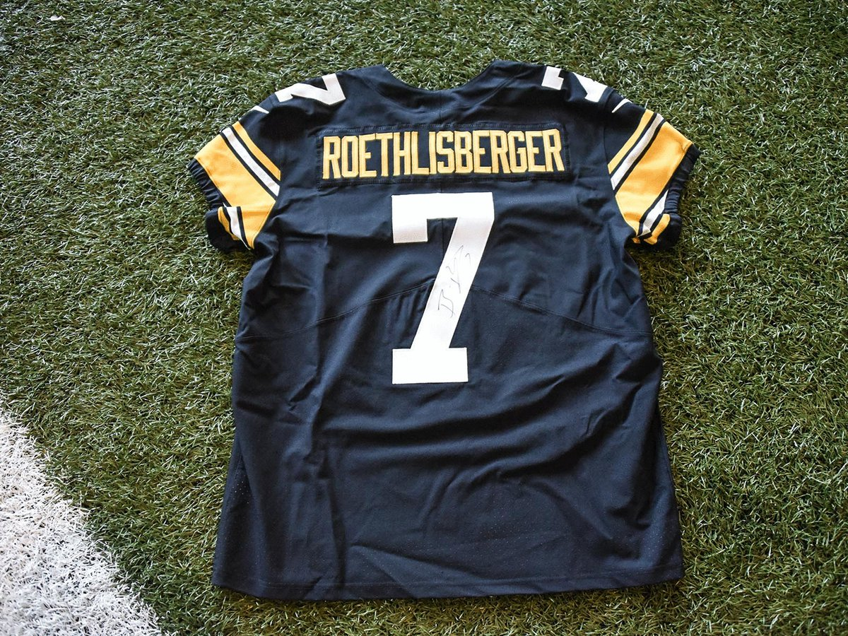 da05a25cdd9 Retweet for your chance to win this autographed Ben Roethlisberger 2018 Throwback  Jersey on #BensDay.… https://t.co/fq8PKbSVC9