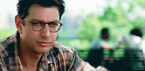 «Life finds a way». Happy Birthday Jeff Goldblum! (cc.