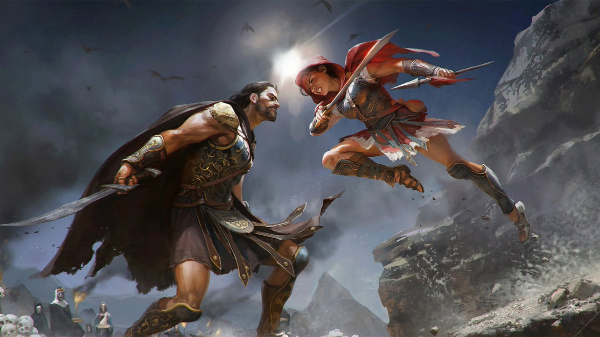 The art of Assassins Creed Odyssey bit.ly/2CWGvnS