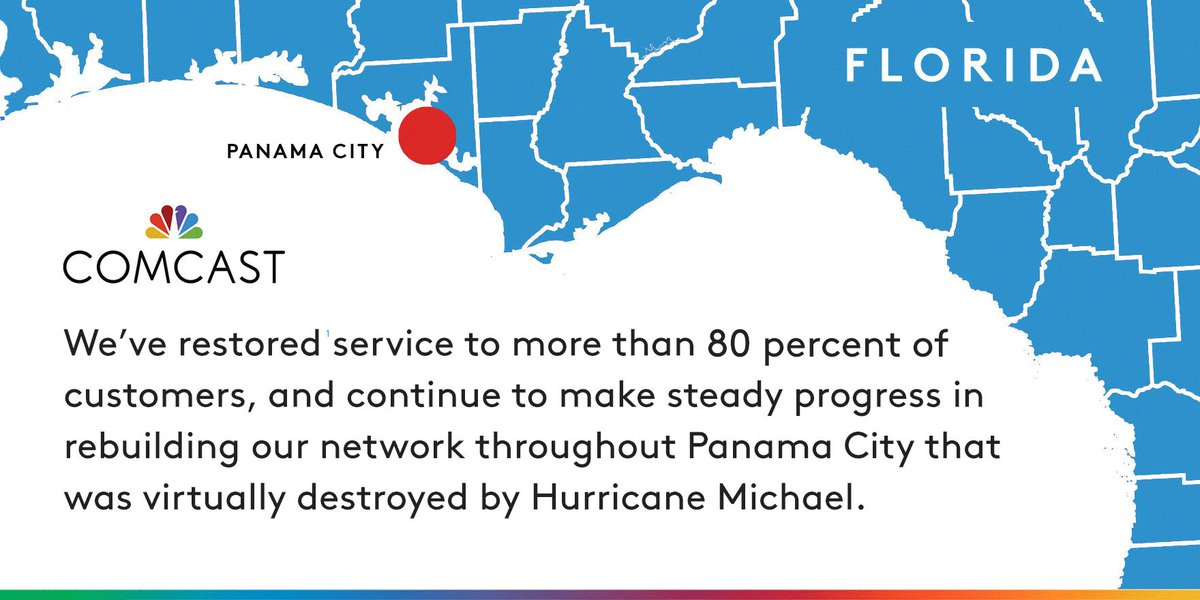 Comcast Service Area Map Florida
