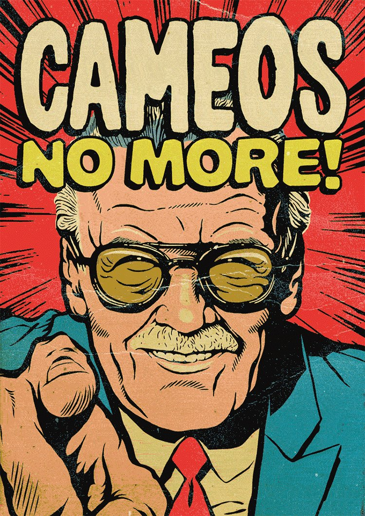 Image for the Tweet beginning: RIP Stan Lee, 'nuff said.