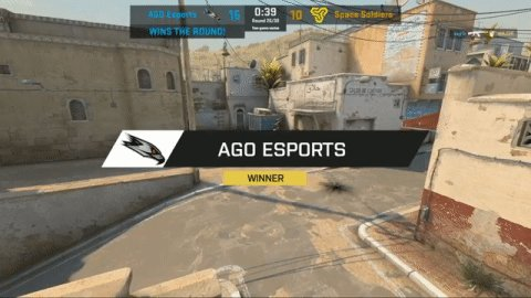 .@AGOEsports win the second map on Dust 2 ending their evening 1-1! #ESLProLeague