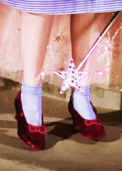 @KarenAnnPenney1 She does wear red high heels... and she is pretty magical! #MLmagical #REALedu