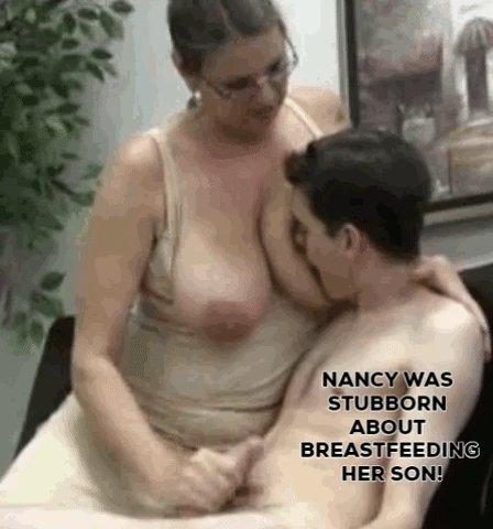 Бомж гладит тетке груди