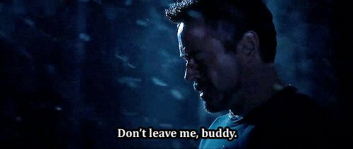 y'all remember when Jarvis shutted down and left Tony alone in the woods,, THIS SHIT IS CURSED IM HURT