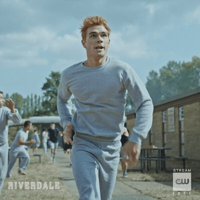 Remember, it's only a game… One hour, West Coast. #Riverdale