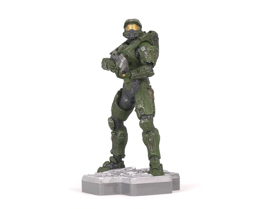 #Totakus Master Chief figure has landed! Equipped with his trusty MA5D Assault Rifle, Spartan-117 is poised and ready for battle. Add this figure to your Halo collection today – available exclusively at @GameStop! gamestop.com/collectibles/t…