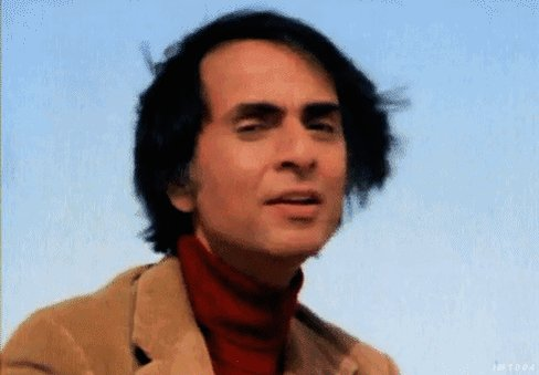 Happy birthday to the one and only Carl Sagan.