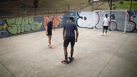 Time for a Sunday showboat ⚽️  See how the Bulls kicked it on court 🤙👉 https://t.co/OMzQwn2bp8 #BrazilGP @RedBullBR