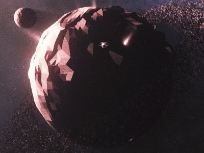 planets exploding gif - 400×300