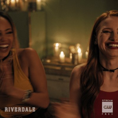 leaving you with a kiss 💋#Riverdale