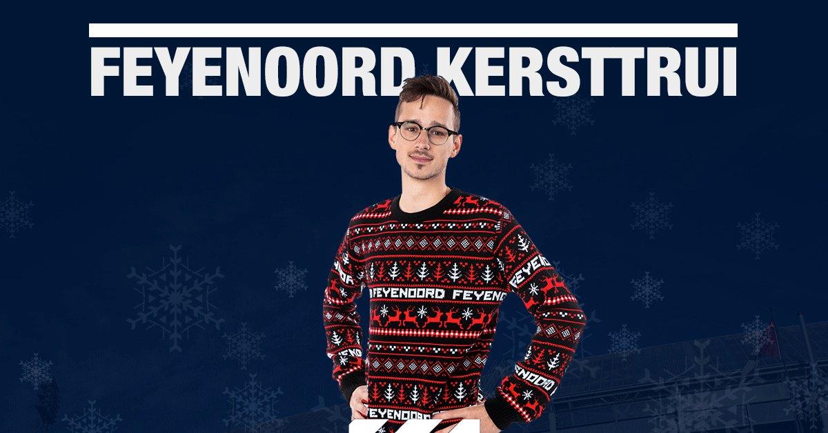 Kersttrui Feyenoord.Feyenoord Rotterdam On Twitter De Feyenoord Kersttrui