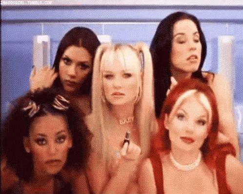 RT @YuritziAP81: #ViernesdeChavorrucosconMiguel con spice girls, wuuuuu!!  @YODEBUENAS https://t.co/LQWe30JjIz