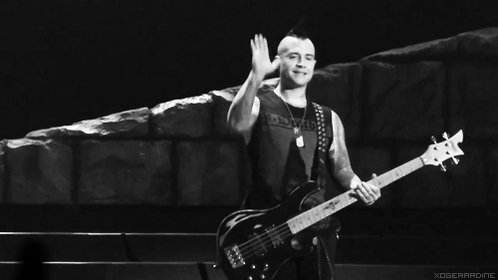 Happy birthday to Johnny Christ of A7X