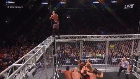 .@KingRicochet, we are in AWE of you! #NXTTakeOver #WarGames
