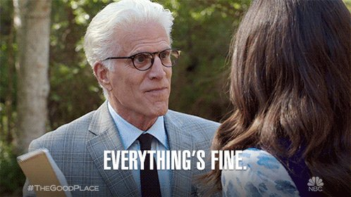 Trying to maintain a positive outlook on life. #TheGoodPlace https://t.co/JJNY8uyYCm