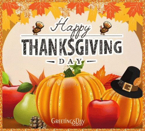 Happy Thanksgiving! 🦃 🍁