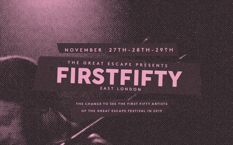 FIRST FIFTY crash lands into East London NEXT WEEK. Tickets only £5 bit.ly/2jvdTJy