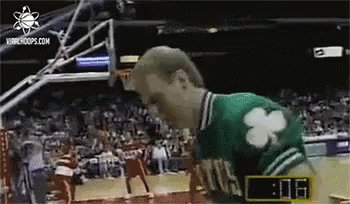 Happy Birthday to the real legend.  You are the greatest of all time Larry Bird!