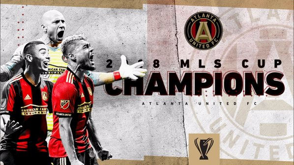 Conquered.   Congratulations to @ATLUTD, the 2018 #MLSCup Champions!