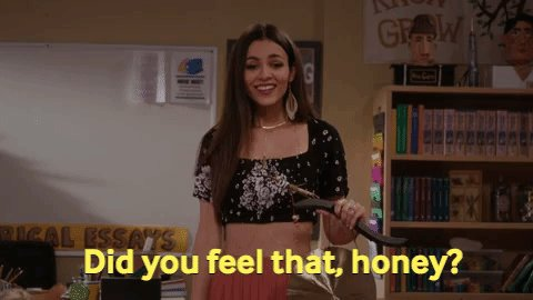 That was the feeling of another great episode of #AmericanHousewife!
