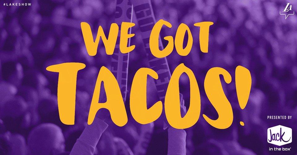 You want em, you got em. #WeGotTacos