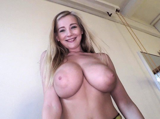 Big tits bounce around as cassidy banks sits on a hard cock
