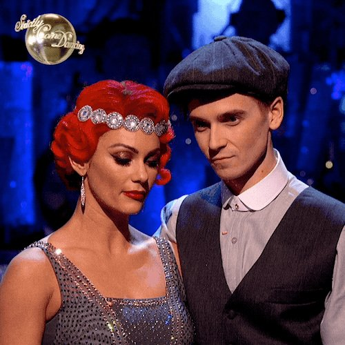 They've only gone and done it! 😱 @Joe_Sugg and @dbuzz6589 are your first #Strictly 2018 Finalists!