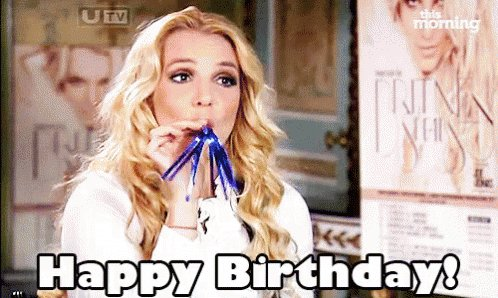 Happy birthday! Britney Spears pop princess, legend and pop iconic   .