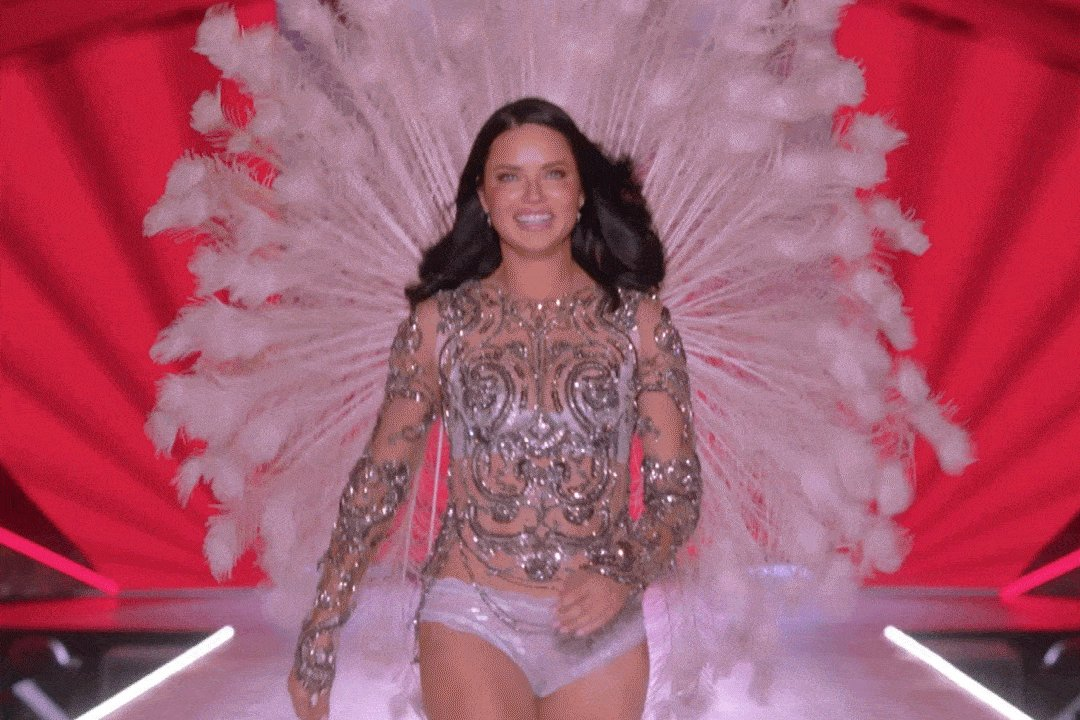 THE END OF AN ERA! @adrianalima #VSFashionShow