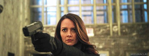 Happy birthday to Amy Acker, Queen of Two Guns Gifs