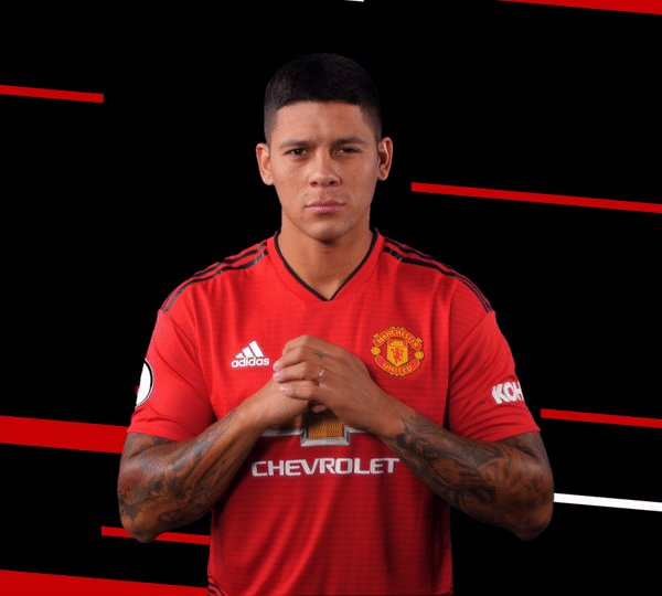 Its a first appearance of the season for Marcos Rojo! 👊 #MUNARS #MUFC
