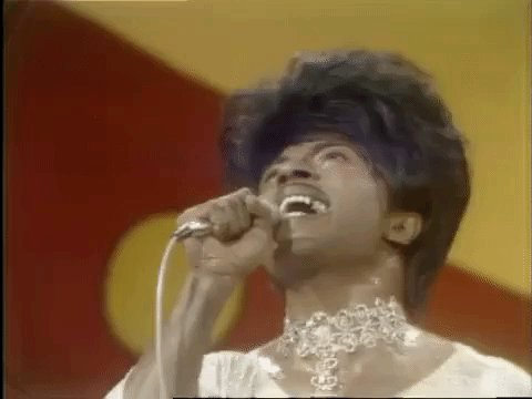 Also, Happy Birthday to the Queen of Rock n Roll...    Little Richard!