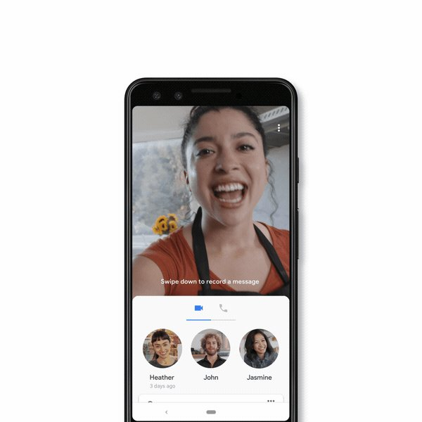 Rolling out this week on #GoogleDuo, you'll be able to send a video message with a couple of taps – just in time for spreading that holiday cheer → http://goo.gl/3RE4vq