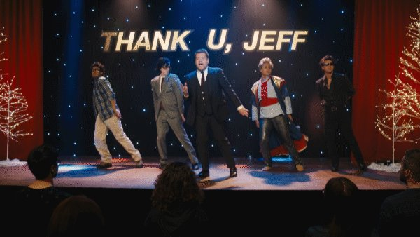 when the whole squad is on point. #thankujeff