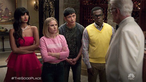 There's Snow Place Like The Good Place ❄️'s photo on best television series