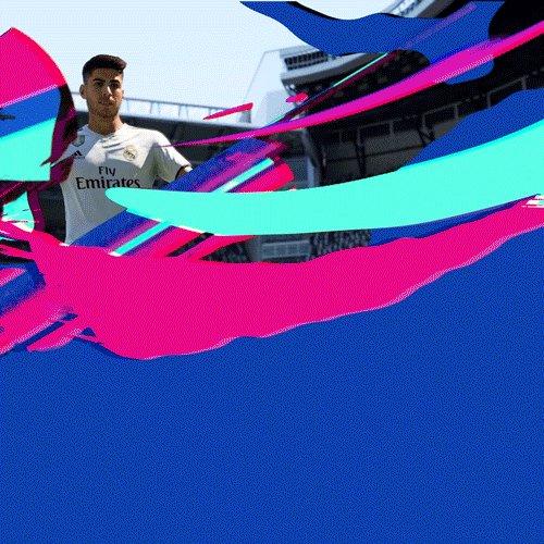 33'   1-0   ¡GOOOOOOOOOOOOOOOOOOOOOOOOOOOOL de @marcoasensio10!  #FIFA19   #HalaMadrid