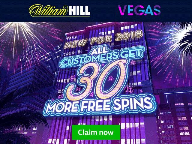 30 #free #Spins >  http://bit.ly/WillHillVegass #freebets #bookies #casino bookmaker #gambler #bet365