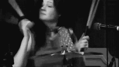 Happy birthday to another one of my badass female role models - the lovely Meg White!