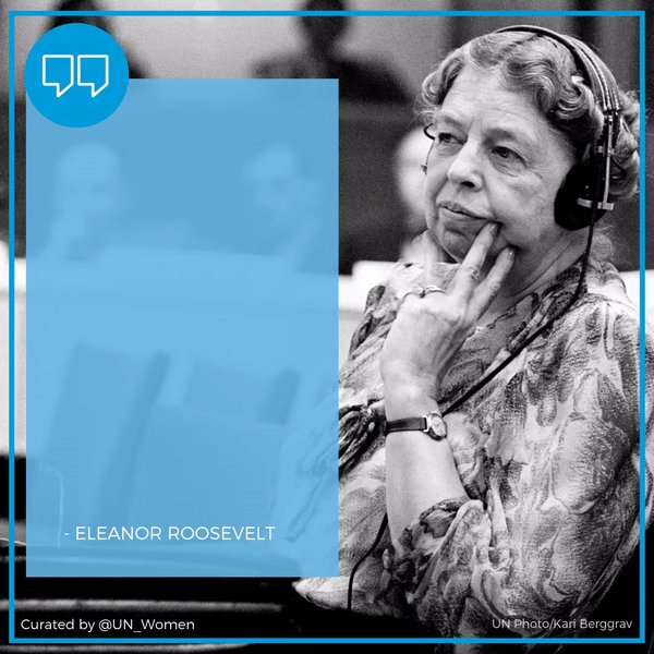 Image for the Tweet beginning: Did you know? Eleanor Roosevelt