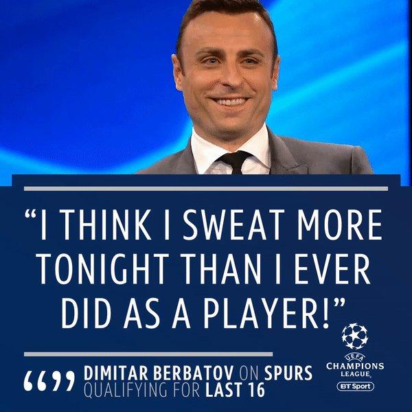 Dimitar Berbatov, ladies and gentlemen 😎