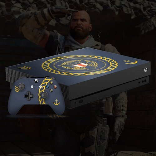 RT for a chance to win one of these custom Xbox One X consoles inspired by the COD Endowment for veterans. Ends December 14. #CODESweepstakes rules: https://xbx.lv/2Er2xAa
