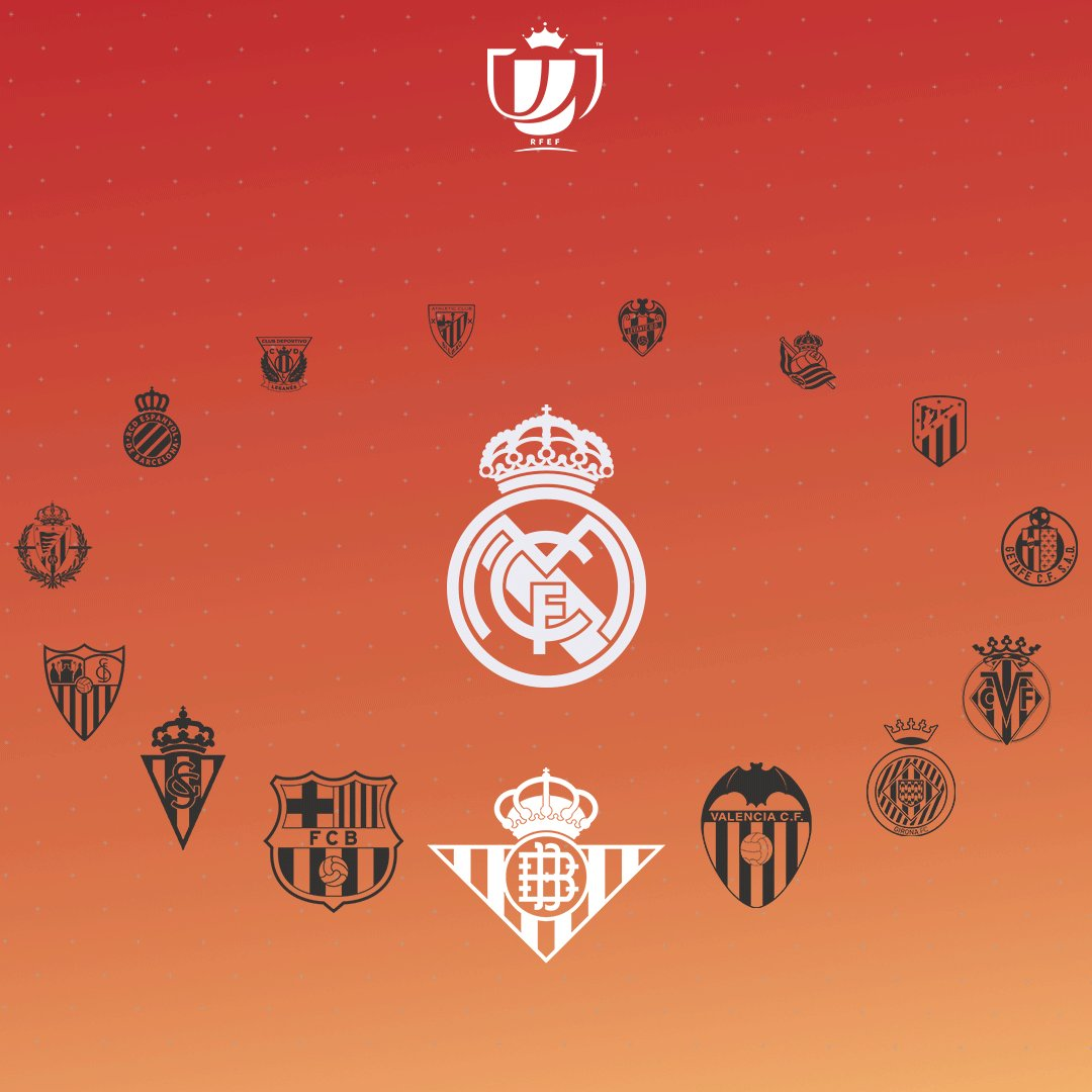 👑🆚🏆 The Copa del Rey last-16 draw will take place at 4pm CET. These are the teams we could face in the next round... 👇 #RMCopa