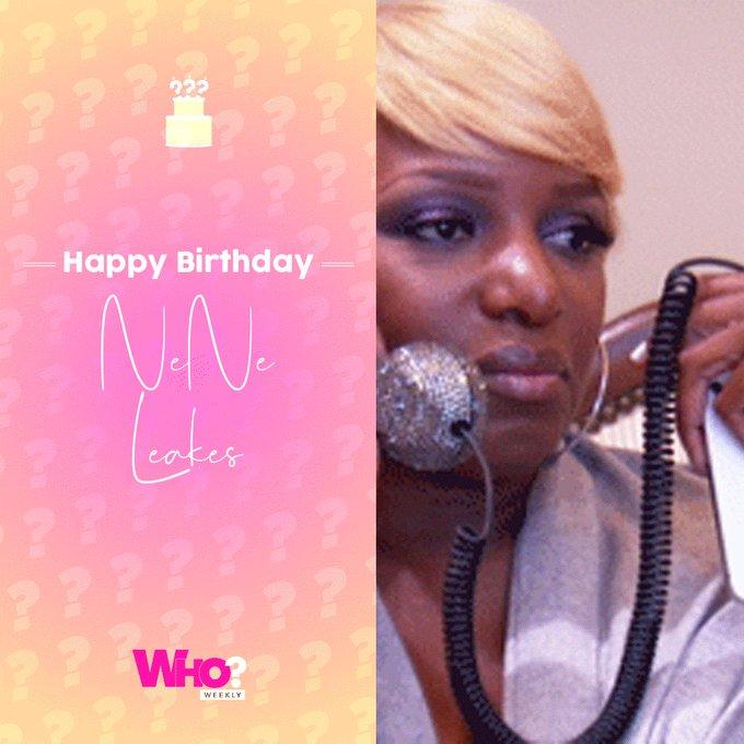 Happy birthday, NeNe Leakes!