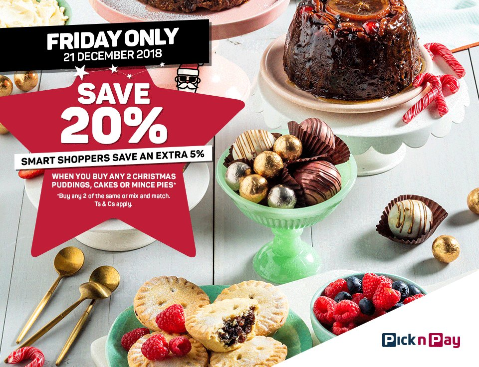 Pick N Pay On Twitter Santas Favourite At 20 Off Buy Any 2