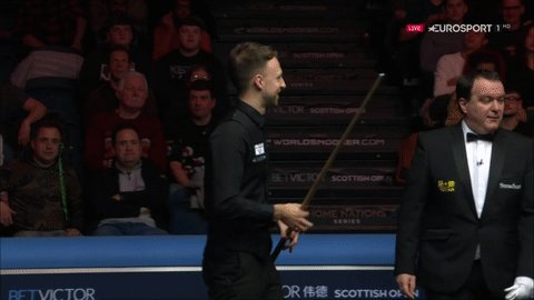 And we're off!  🏆 Quarter Finals, @BetVictor Scottish Open 🆚 Judd Trump vs Stuart Carrington 📺 LIVE on @Eurosport_UK   Watch: https://t.co/aLa3VnEpD5 #ScottishOpen