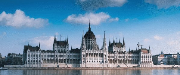 Throwback to February when I visited Budapest and made this sweet gif! #hyperlaspe #budapest #hungary