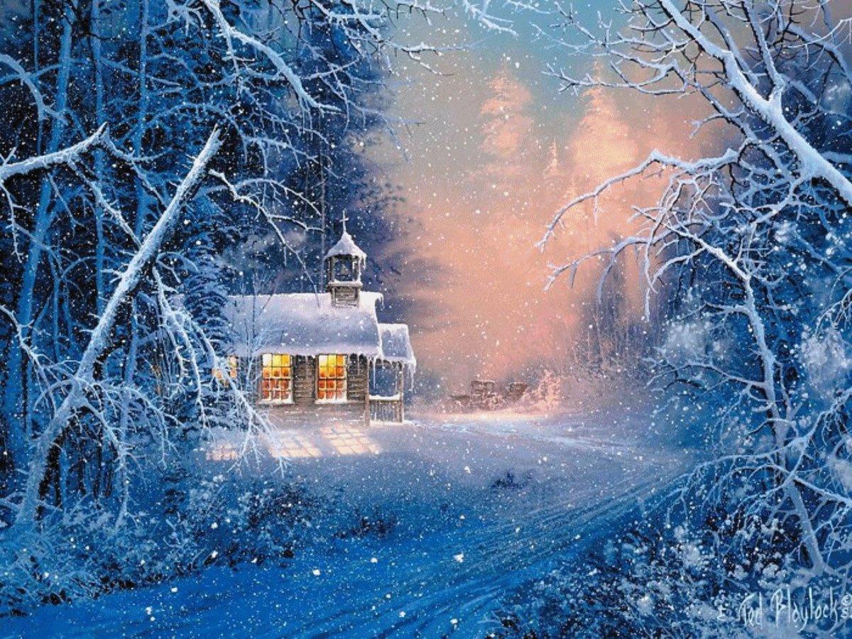 Зима фото и открытки
