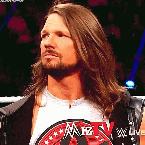 AJstyles for his hair