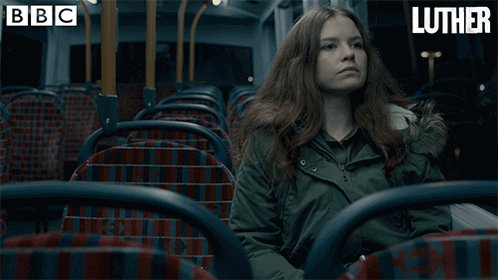 Why we're never getting the night bus ever again. #Luther